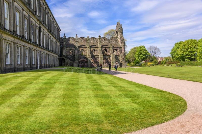 Παλάτι Holyrood στο Εδιμβούργο, Σκωτία στοκ φωτογραφίες με δικαίωμα ελεύθερης χρήσης