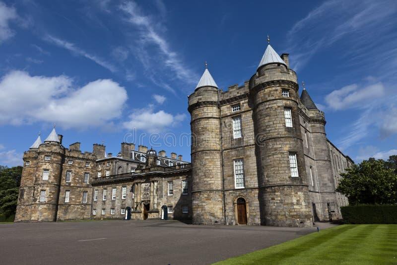 Παλάτι Holyrood στοκ φωτογραφία με δικαίωμα ελεύθερης χρήσης