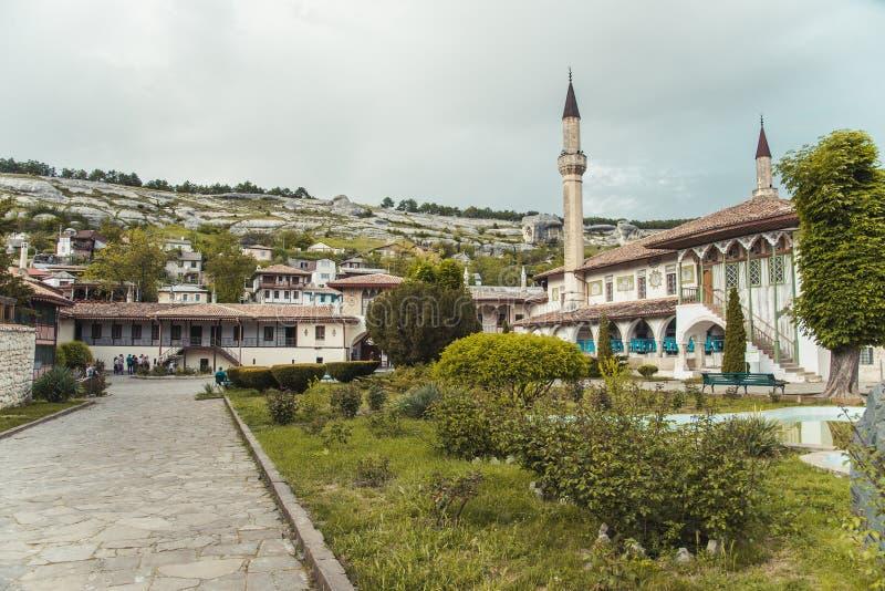 Παλάτι Khan ` s σε Bakhchisaray στοκ εικόνα