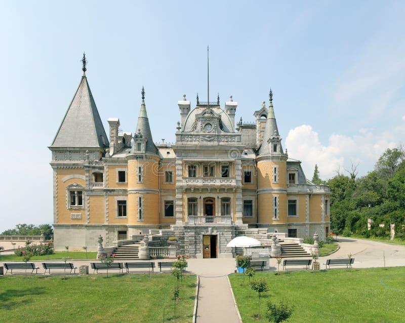 παλάτι massandra στοκ εικόνα