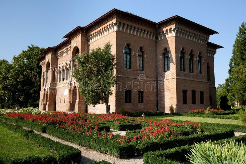 παλάτι mogosoaia στοκ εικόνα