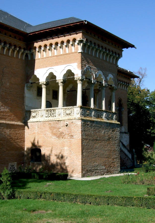 παλάτι mogosoaia στοκ εικόνες με δικαίωμα ελεύθερης χρήσης
