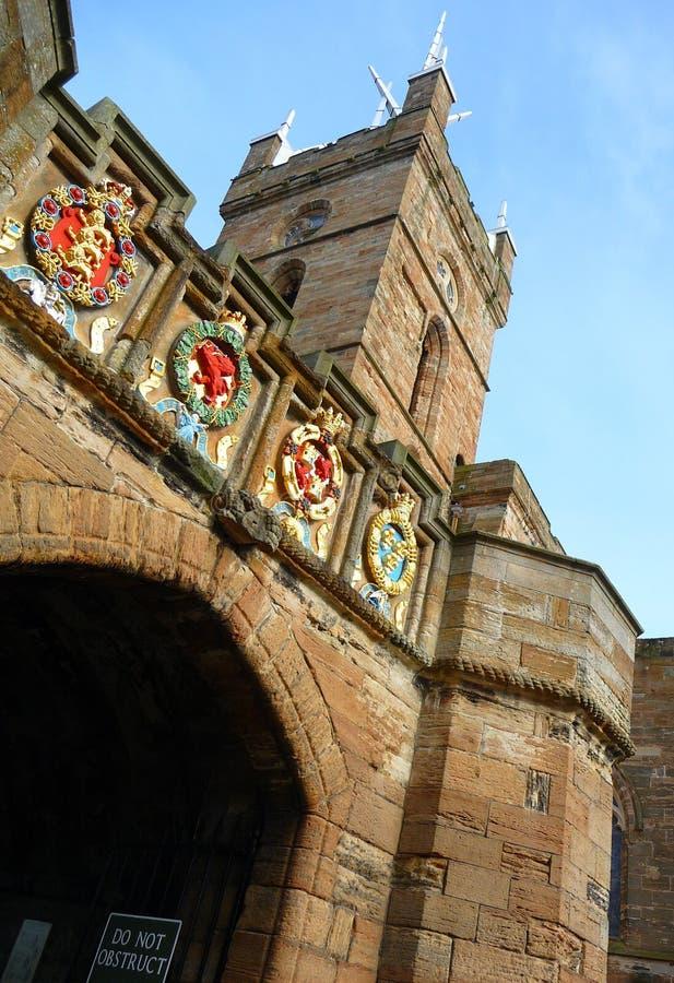παλάτι pend πυλών linlithgow στοκ φωτογραφία με δικαίωμα ελεύθερης χρήσης