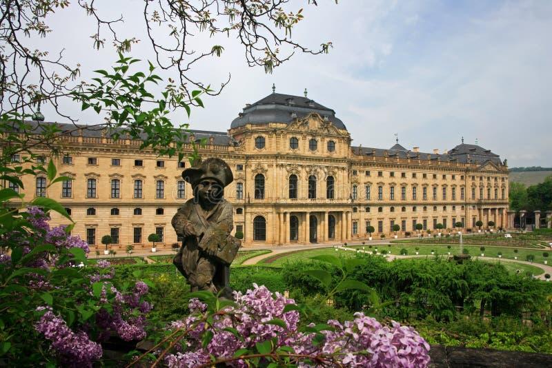 παλάτι residenze Wurzburg στοκ εικόνες