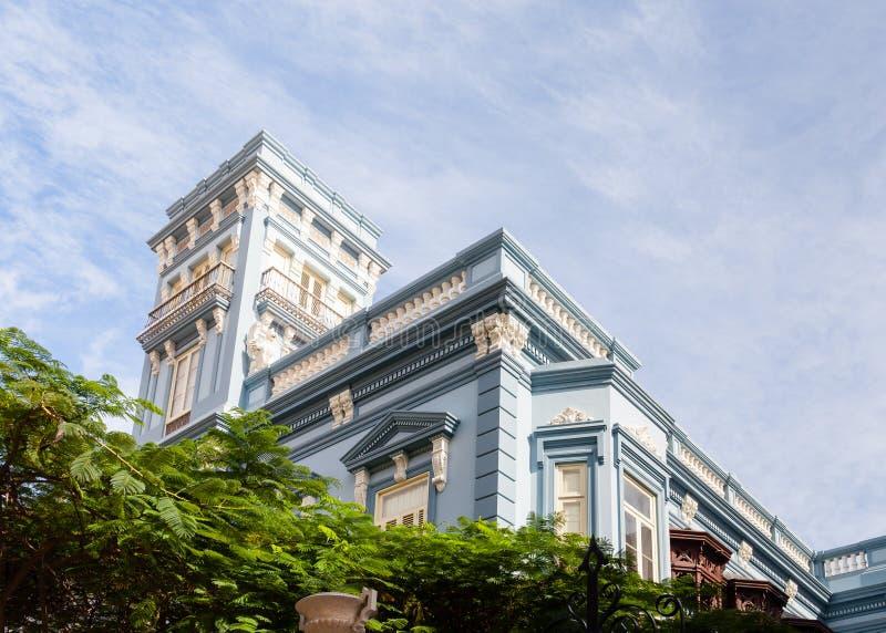 Παλάτι Rodriguez Quegles στο Las Palmas de θλγραν θλθαναρηα στοκ φωτογραφίες