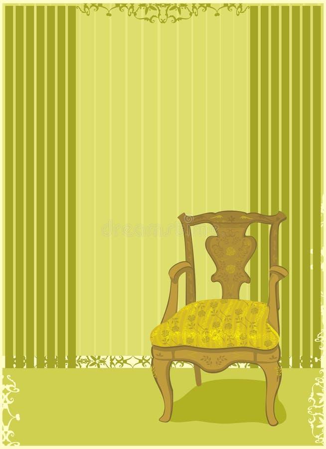 παλαιά έδρα διανυσματική απεικόνιση
