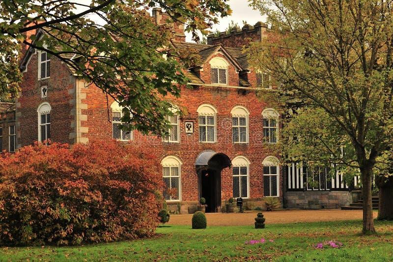 Παλαιά αίθουσα Rufford, Lancashire στοκ εικόνες με δικαίωμα ελεύθερης χρήσης