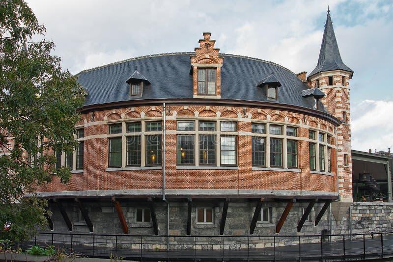 Παλαιά αγορά ψαριών σε Gent στοκ εικόνα με δικαίωμα ελεύθερης χρήσης