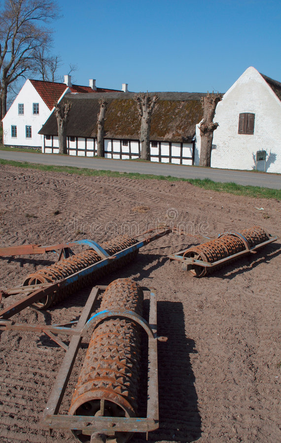 Παλαιά αγροτικά μηχανήματα στοκ φωτογραφία με δικαίωμα ελεύθερης χρήσης