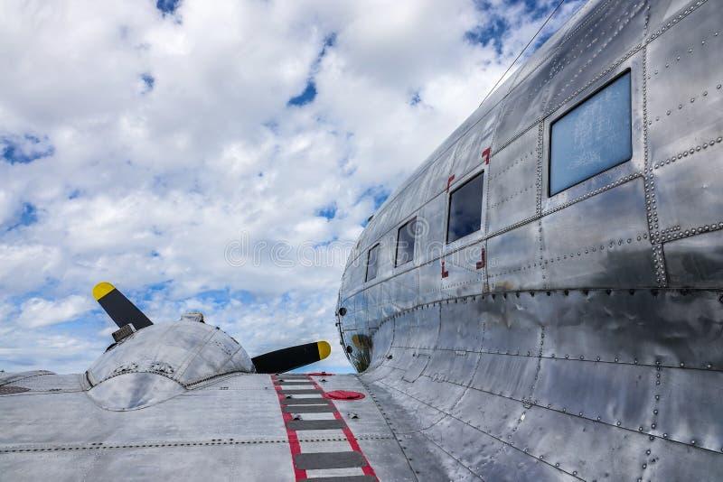 Παλαιά αεροσκάφη, TP 79 Ντάγκλας ρεύμα-3 Ντακότα στοκ εικόνα