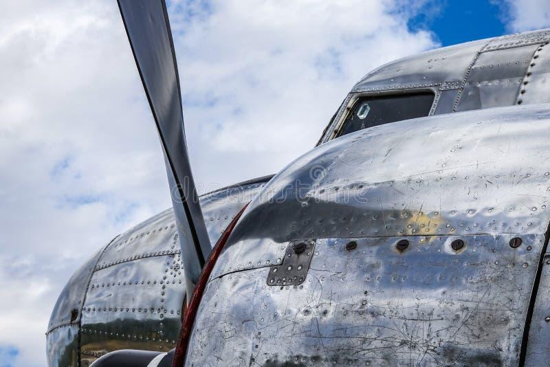 Παλαιά αεροσκάφη, TP 79 Ντάγκλας ρεύμα-3 Ντακότα στοκ φωτογραφίες με δικαίωμα ελεύθερης χρήσης
