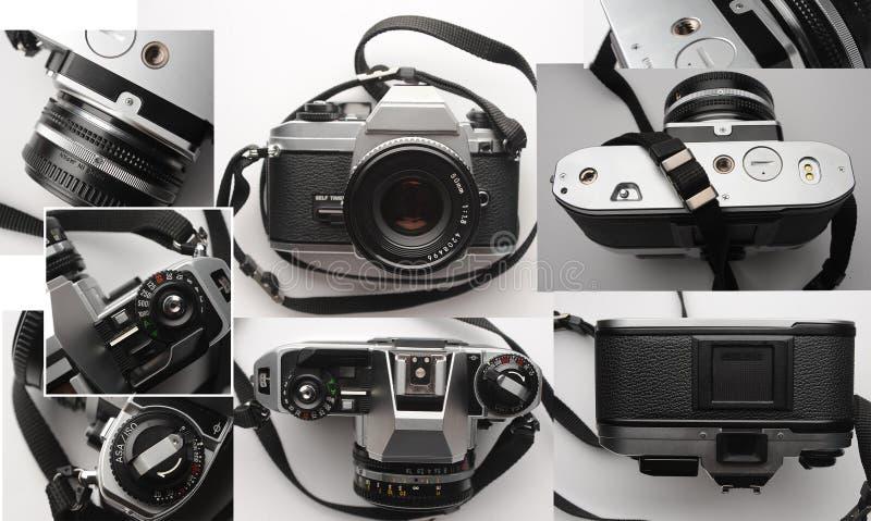 Παλαιά αναλογική κάμερα ταινιών 35mm στοκ εικόνες