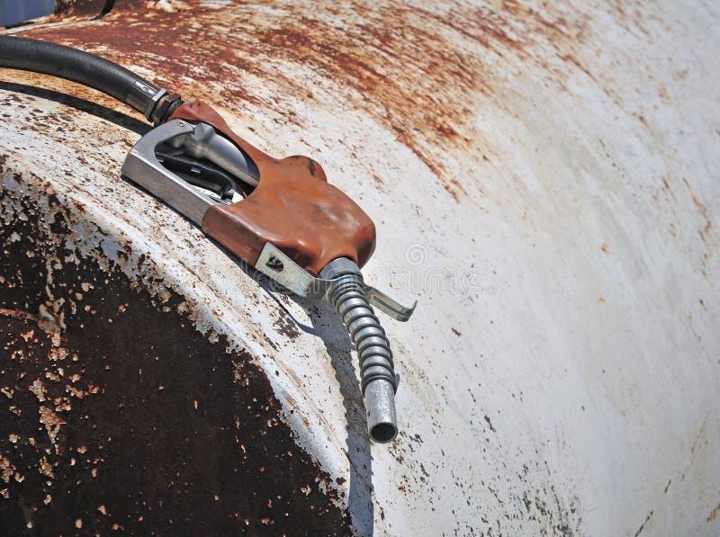 παλαιά αντλία αερίου στοκ φωτογραφία