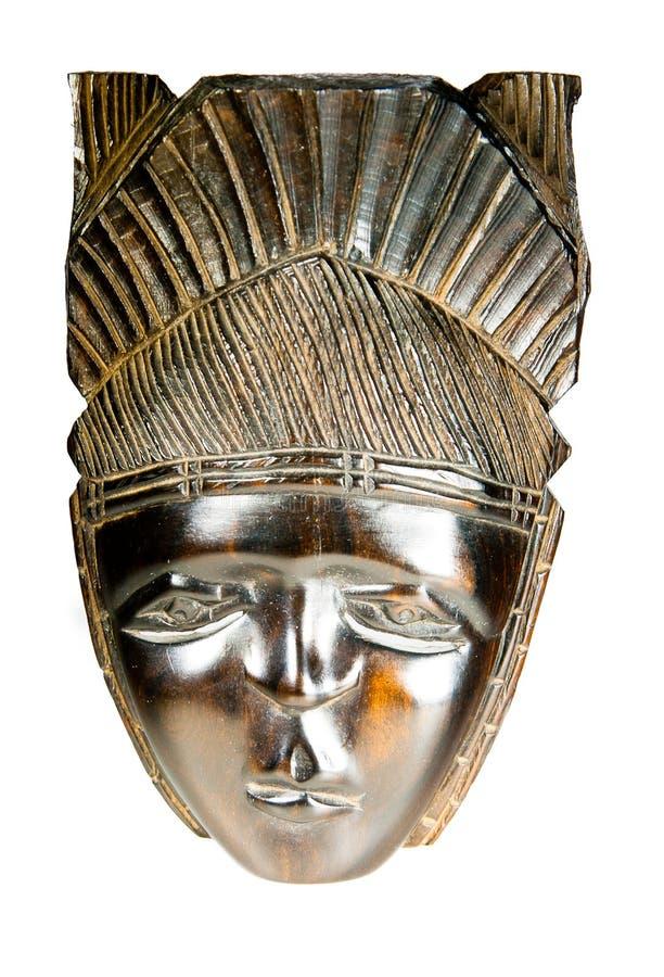 Παλαιά αφρικανική κογκολέζικη μάσκα στοκ εικόνες με δικαίωμα ελεύθερης χρήσης