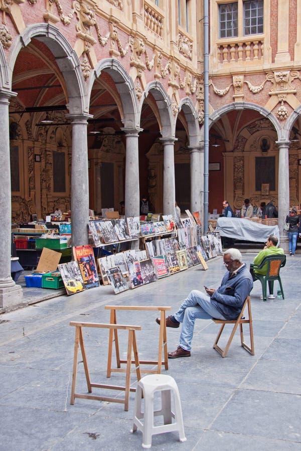 Παλαιά γαλλική αγορά στοκ εικόνα