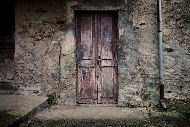 Παλαιά είσοδος στοκ φωτογραφία