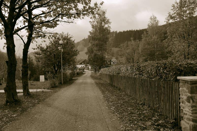 Παλαιά εικόνα φθινοπώρου στοκ φωτογραφίες