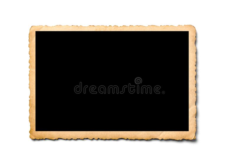 Παλαιά εικόνα φωτογραφίας ταινιών φωτογραφιών στιγμιαία αναδρομική στοκ εικόνα