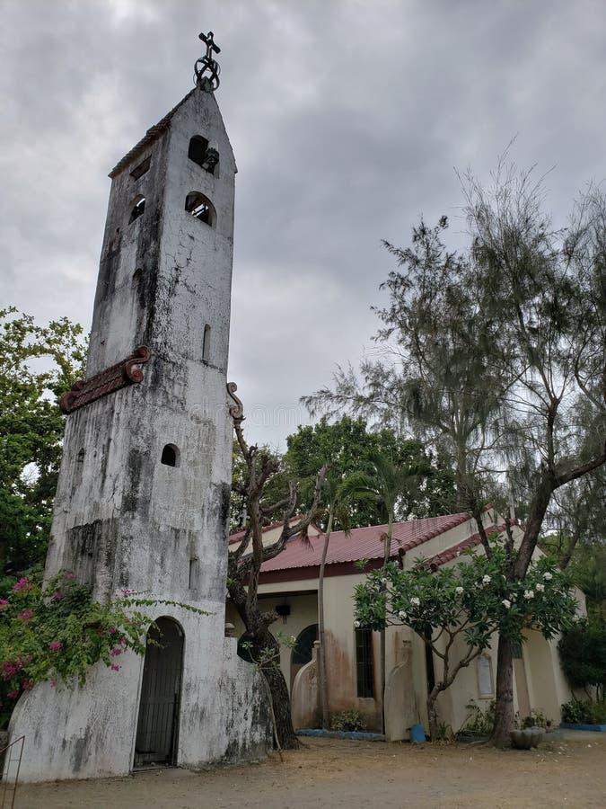 Παλαιά εκκλησία, ένωση Λα Agoo, Φιλιππίνες στοκ φωτογραφία με δικαίωμα ελεύθερης χρήσης