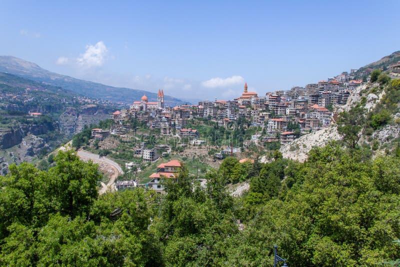 Παλαιά εκκλησία στο βόρειο Λίβανο στοκ φωτογραφίες με δικαίωμα ελεύθερης χρήσης