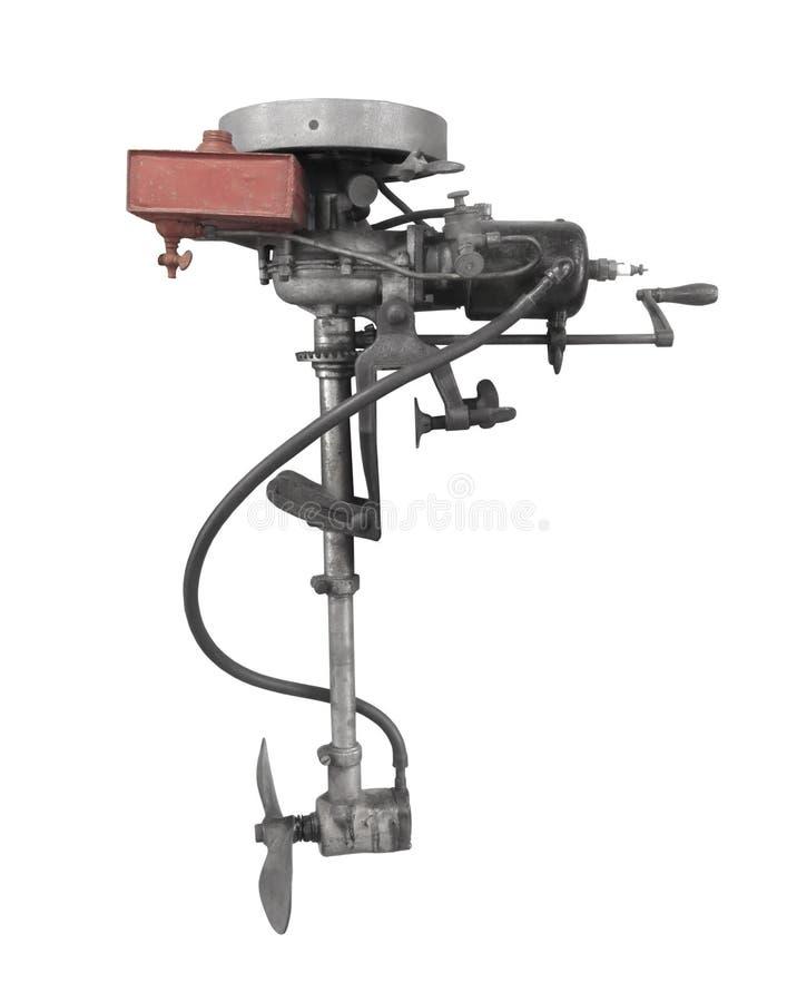 Παλαιά εξωτερική μηχανή που απομονώνεται στοκ φωτογραφία με δικαίωμα ελεύθερης χρήσης