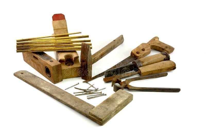 παλαιά εργαλεία ξυλουργών ξύλινα στοκ φωτογραφίες με δικαίωμα ελεύθερης χρήσης