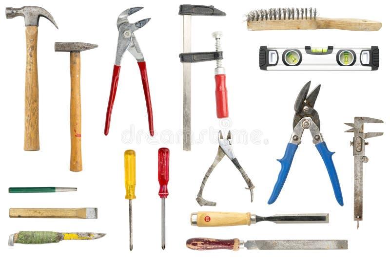 παλαιά εργαλεία συλλο& στοκ φωτογραφίες