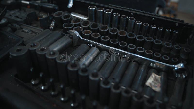Παλαιά εργαλεία Σύνολο Autotool στοκ φωτογραφίες