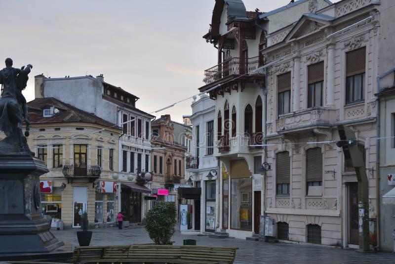 Παλαιά ευρωπαϊκή πόλη με την μπαρόκ αρχιτεκτονική στοκ εικόνες με δικαίωμα ελεύθερης χρήσης