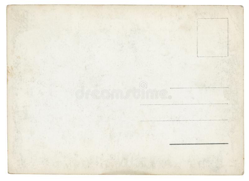 παλαιά θέση καρτών στοκ εικόνα
