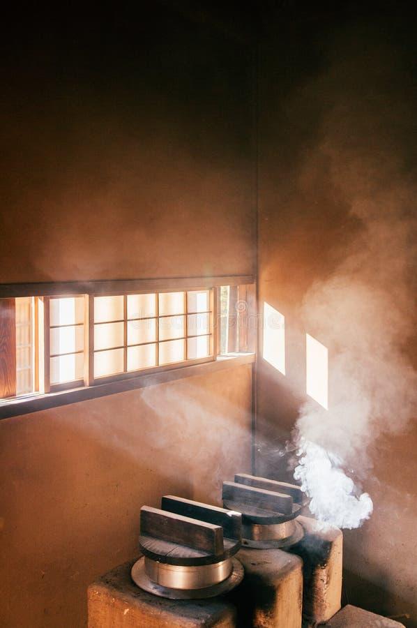 Παλαιά ιστορικά σπίτια Σαμουράι στην πόλη Sakura, Τσίμπα, Ιαπωνία στοκ φωτογραφία με δικαίωμα ελεύθερης χρήσης