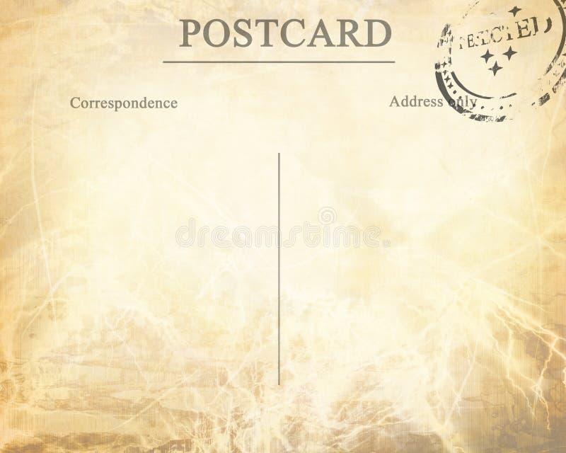 Παλαιά κάρτα ελεύθερη απεικόνιση δικαιώματος