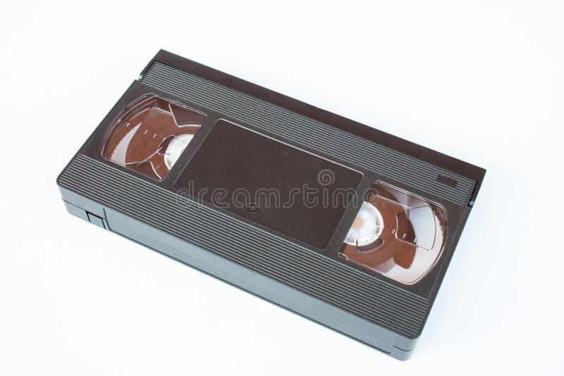 Παλαιά κασέτα τηλεοπτικών ταινιών VHS που απομονώνεται στο άσπρο υπόβαθρο στοκ φωτογραφία με δικαίωμα ελεύθερης χρήσης