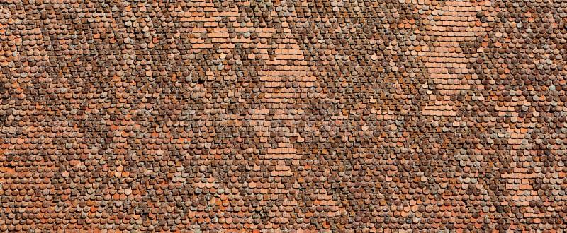 Παλαιά κεραμίδια αργίλου στοκ φωτογραφία με δικαίωμα ελεύθερης χρήσης