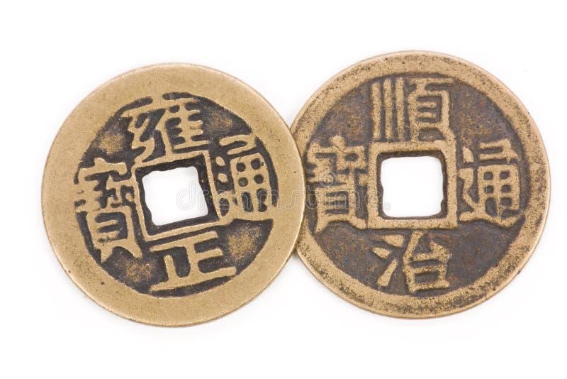 παλαιά κινεζικά νομίσματα στοκ φωτογραφίες με δικαίωμα ελεύθερης χρήσης