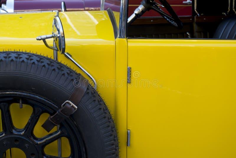 Παλαιά κλασική λεπτομέρεια αυτοκινήτων στοκ εικόνες