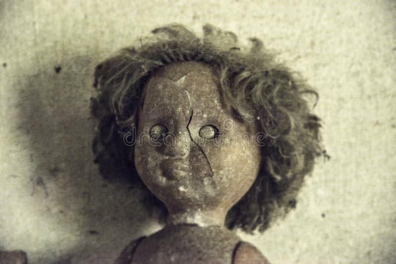 Παλαιά κούκλα σε Pripyat στοκ φωτογραφία με δικαίωμα ελεύθερης χρήσης