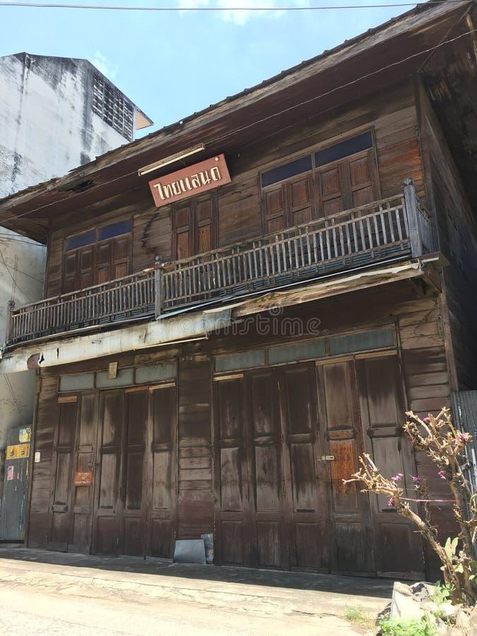 παλαιά κτήρια της Ταϊλάνδης στοκ εικόνες