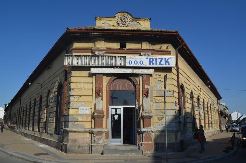 Παλαιά κτήρια του Νόβι Σαντ, Σερβία στοκ φωτογραφία