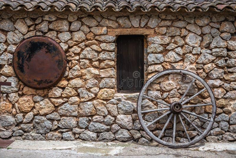 Παλαιά μεσαιωνική σιταποθήκη στοκ εικόνα με δικαίωμα ελεύθερης χρήσης