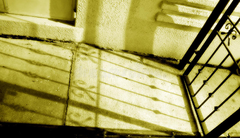 παλαιά μονοχρωματική σκιά  στοκ εικόνες με δικαίωμα ελεύθερης χρήσης