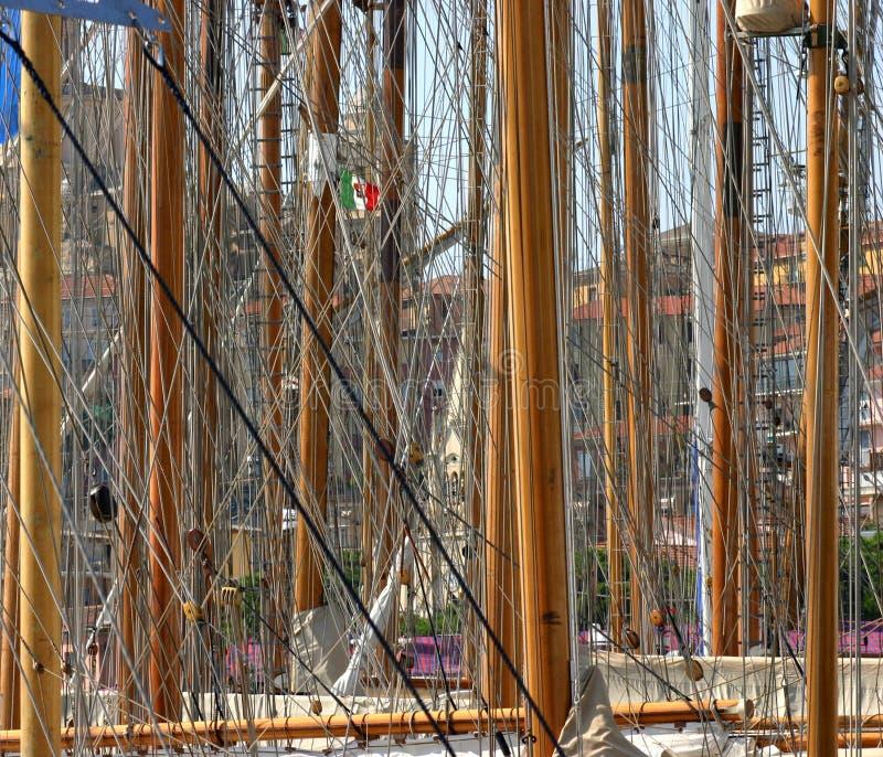 παλαιά ναυσιπλοΐα βαρκών στοκ εικόνες με δικαίωμα ελεύθερης χρήσης