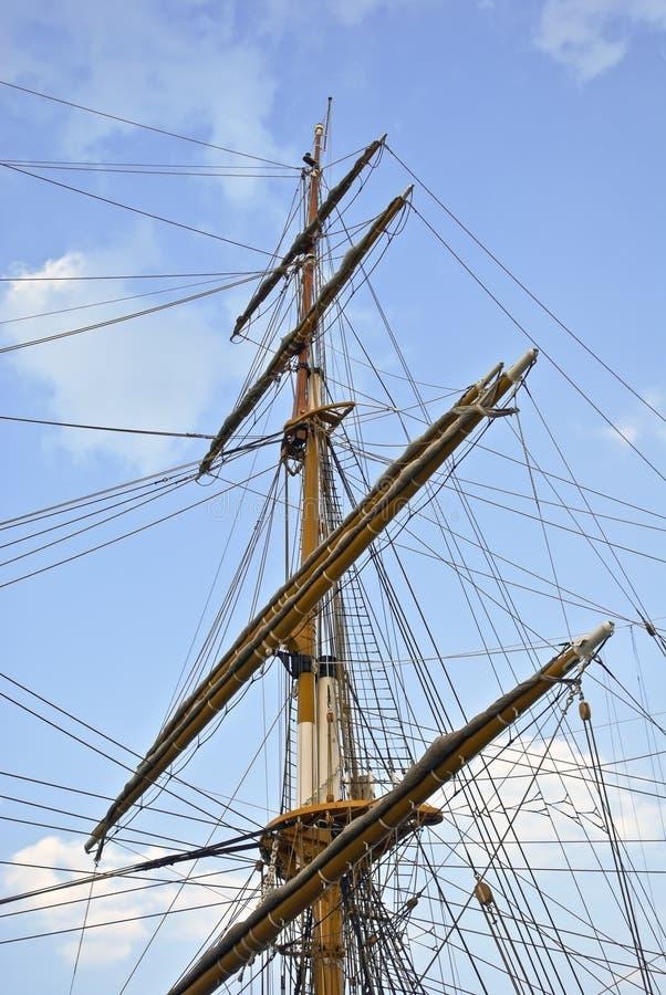 παλαιά ναυσιπλοΐα ξαρτιών  στοκ φωτογραφία με δικαίωμα ελεύθερης χρήσης
