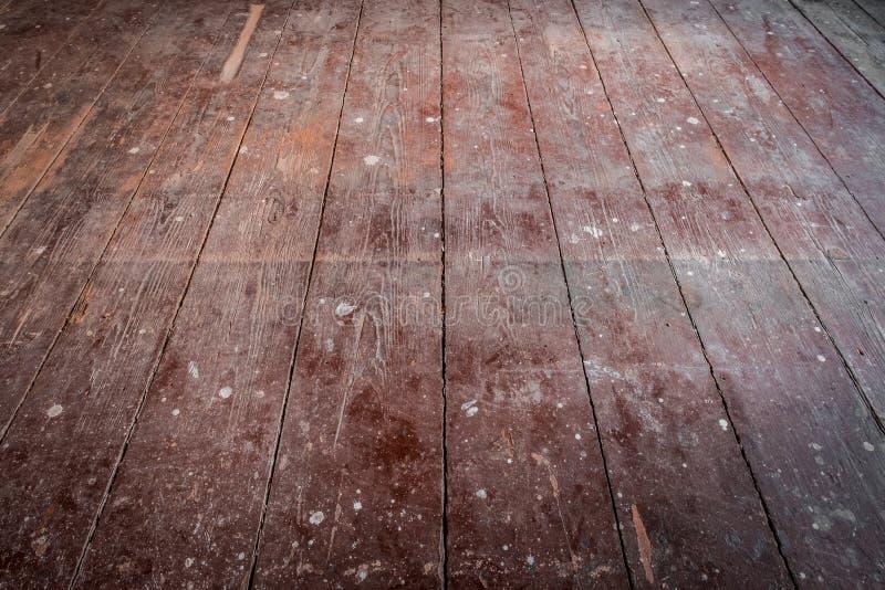 Παλαιά ξύλινα πάτωμα/floorboards στο παλαιό δωμάτιο διαμερισμάτων - κατασκεύασμα στοκ φωτογραφία με δικαίωμα ελεύθερης χρήσης