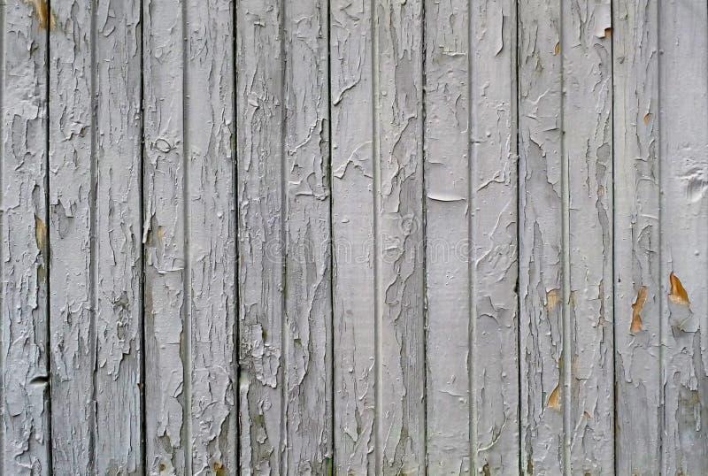 Παλαιά ξύλινη σύσταση σανίδων ραγισμένο χρώμα στοκ εικόνες