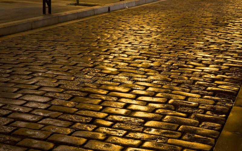 παλαιά οδός πετρών της Ελ&lamb στοκ φωτογραφίες