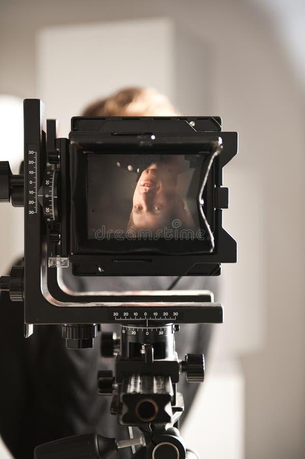 παλαιά οθόνη ταινιών φωτογ&r στοκ φωτογραφία με δικαίωμα ελεύθερης χρήσης