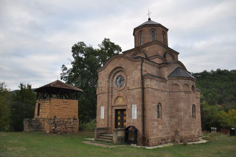 Παλαιά Ορθόδοξη Εκκλησία και καμπαναριό στοκ φωτογραφίες