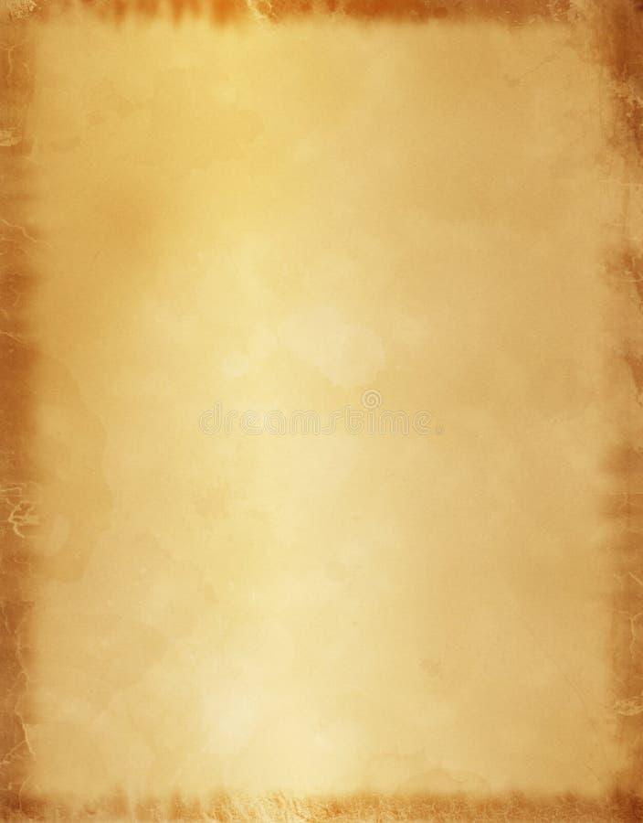 παλαιά περγαμηνή εγγράφου ανασκόπησης διανυσματική απεικόνιση