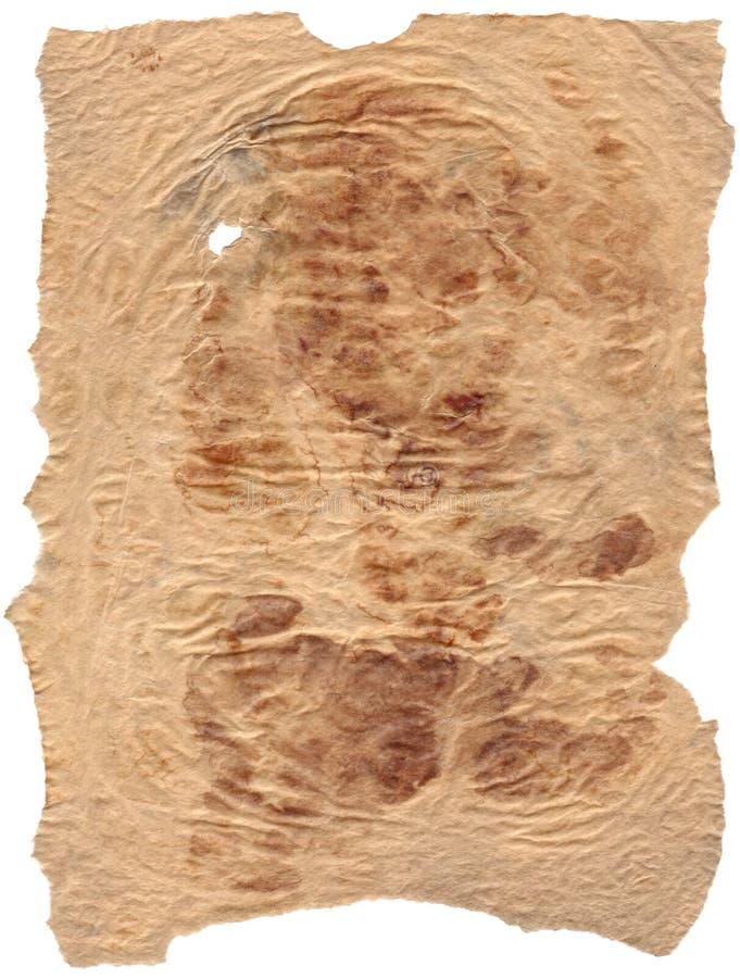 παλαιά περγαμηνή εγγράφο&upsil στοκ εικόνα με δικαίωμα ελεύθερης χρήσης